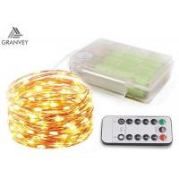 China Copper Wire Decorative Outdoor Led String Lights, 200 LED Rope LightAA Battery on sale
