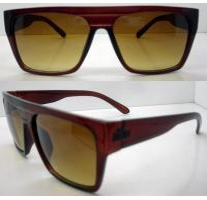 Cheap Retro Plastic Frame Sunglasses AC / PC Square Lens For Men for sale