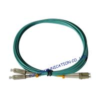 Quality OFNR Hytrel OM3 Optical Fiber Patch Cord Hybrid , Duplex Telecom Systems lc sc patch cord wholesale