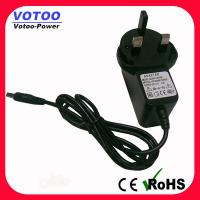 Quality High Efficiency 9W 9V 1A Wall Mount Power Adapter For DVD Player , 50-60Hz wholesale