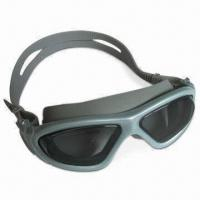 China Professional Anti-fog Swimming Goggles with Ultra-durable PC Lens and Spray Painting Frame Available on sale