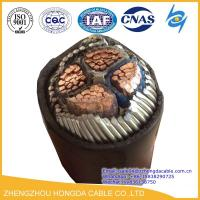 Quality Hot Sale 4x185mm2 Cu/XLPE/SWA/ PVC Insulated Steel Wire Armoured Power Cable wholesale