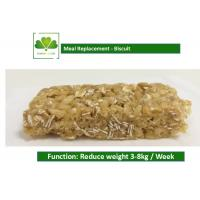 Quality 100% Natural Food Weight Loss Protein Bars Biscuit Cookie For Satiety wholesale