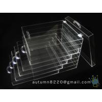 Quality BO (114) clear acrylic jersey display case wholesale