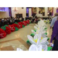 Buy cheap Giant Wedding Flower Inflatable Flower String for Stage and Wedding Decoration product