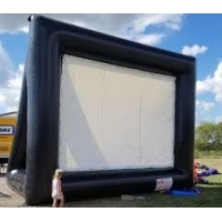 Quality Outdoor Theater Screen Inflatable Cinema Screen Portable Projection Screen wholesale
