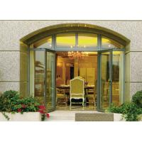 Quality Insulated Glass Aluminium Casement Door Waterproof With Grill CCC , ISO 9001 wholesale