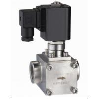 "Quality Normally Open NO High Pressure Gas Solenoid Valve , 3/8""Electromagnetic Solenoid Valve wholesale"