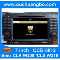 China Car audio for Mercedes Benz CLK W209 /Benz CLS W219 body kit with iPod RDS radio mp3 player OCB-8812 on sale