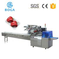 China 2.4KW Flow Packaging Machine For Aseptic Mushroom Hot Pepper Chili In Tray on sale