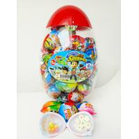 Quality Happy Egg Multi Fruit Flavor Sugar Powder Candy CC Stick With Lovely Mini Spinner wholesale