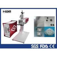 China 30w 50w 100w Color Fiber Laser Marking Machine On Jewelry / Ring Watch Enlosed on sale