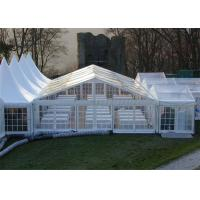 Cheap Clear Pvc Fabric Outdoor Party Tents With Wooden