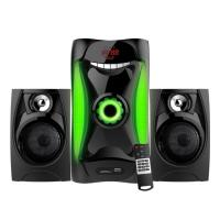 Quality Wooden Bluetooth Heavy Bass 2.1 Speaker Sound System Sub Woofer Home Theater wholesale
