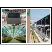 Quality Quietest Central Air Source Heat Pump For Meat Chicken Farm Heating wholesale