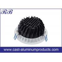 Quality Round Aluminum Cast Housing High Pressure Die Casting With Powder Coating wholesale