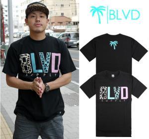 Quality Wholesale Newly Men's BLVD active top designer round collar short sleeve hip-hop T-shirt wholesale
