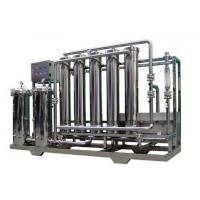 Quality Ultra - Filtration Pure / Drinking Water Treatment Machine 1000L - 30000L/H wholesale