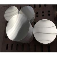 Quality 1050 1070 3003 Anodized Aluminum Discs With High Weather Resistance wholesale