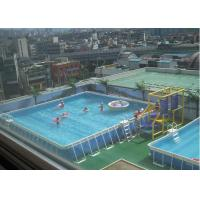 Cheap outdoor square metal frame pool metal frame swimming pool for rental of nflatablestoy Square swimming pools for sale