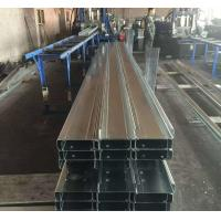 Quality Q235b Q345b Galvanised Steel Purlins Cold Bending Spacing Steel Channel wholesale