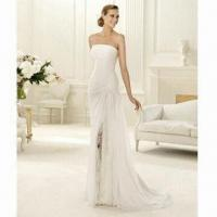 Quality 2012 Fashionable Style Sexy Slit Wedding Bridal Gown wholesale