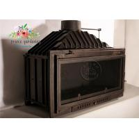 Quality Modern Cast Iron Fireplace Surround / Freestanding Fireplace Insert wholesale