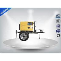 Quality 3 Cylinder 75dB large Trailer Mounted Generator 64 kw Output Power in - line Config wholesale
