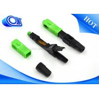 Quality Fast Single Mode Fiber Connector For Active Device Termination wholesale