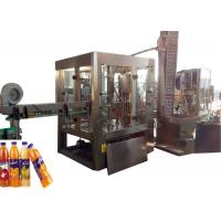 Quality Stable Drinking Water Filling Machine , Soda Soft Drink Making Machine wholesale