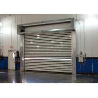 Quality Turbline Hard Aluminum Roller Shutter Doors High Speed With 32mm Thickness wholesale