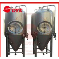 Quality Industrial Conical Stainless Steel Fermenter Tank 2MM - 5MM Thickness wholesale