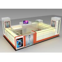 Quality Modern Style Mobile Cell Phone Accessories Kiosk With Fully - Enclosed Structure wholesale