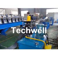 Quality High Efficient Storage Shelf Rack Roll Forming Machine With Material Thickness 2.0-2.5mm wholesale