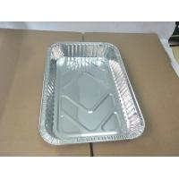 China 2000ml rectangular medium disposable pan aluminium baking tray dish on sale