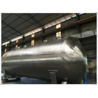 Quality Vertical Industrial Compressed Air Receiver Tank 10 Bar Pressure 0.6m3 Liter wholesale