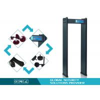Buy cheap High Precision 4 zones scanner metal detector Walk Through for Factory safe from wholesalers