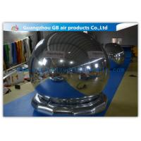 Quality Popular Inflatable Holiday Decorations Air Mirror Ball With Bottom For Advertising wholesale