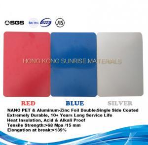 Quality Nano PET Film and Aluminum Foil Coated Heat Insulation Steel-Al Composite Panel wholesale