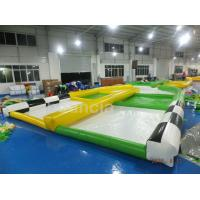 Quality 0.55mm PVC Tarpaulin Inflatable Zorb Ball Track For Zorb Ball Games wholesale