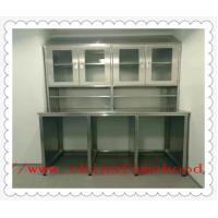 Quality Hospital 304 Or 316  Stainless Steel Work Benches Customized Size wholesale