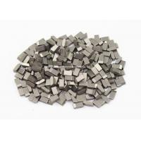 Quality High Wearable Tungsten Carbide Saw Tips For Hardwood , Carbon Steel , Cork, YG6 ,YG6X wholesale