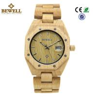 Quality Custom Stable Personalized Mens Wooden Watch Environmentally Friendly wholesale