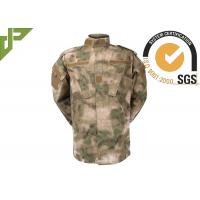 Multi Camo Acu Army Combat Uniform With 5.5 Hidden Pocket , Law Enforcement Uniforms