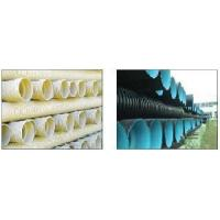 China Vertical Type Double Wall Corrugated HDPE Pipe Production Line on sale