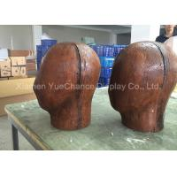 Quality Brown Color Wood Finished Standing Display Rack Resin Glasses Display Rack wholesale