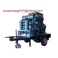Quality Sell Mobile type Transformer oil purifier/ Insulating oil filtration/ oil treatment/oil purification wholesale