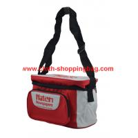 Quality Convenient food red insulated lunch bags for adults with insulated foil lining wholesale