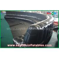 China Eco-friendly Custom Inflatable Products 6 - 10m Black Hermetically Sealed 0.6mm PVC Inflatable Sofa on sale