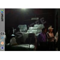 Quality 3 People 5 D Movie Theater Electronic System Luxury Chair Install In Side Truck Box wholesale